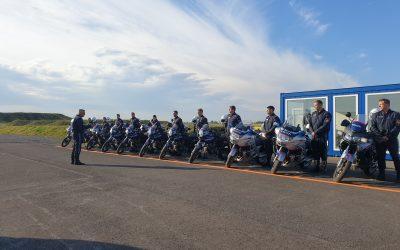 Basis-Ausbildungslehrgang der Wiener Motorradpolizei 2020